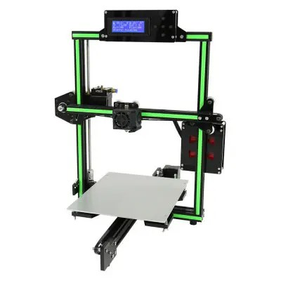 Anet E2 Aluminum Alloy Frame DIY 3D Printer Kit - EU PLUG BLACK