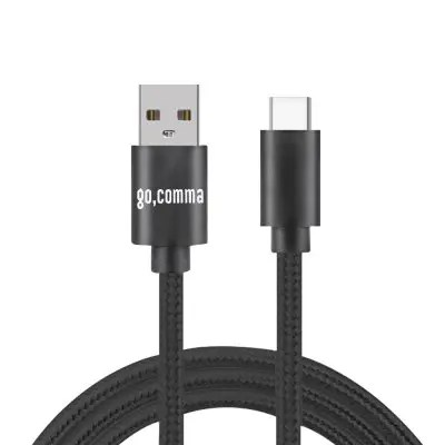 Gocomma Nylon Braided TypeC Data 3A Quick Charge Cable 1PC