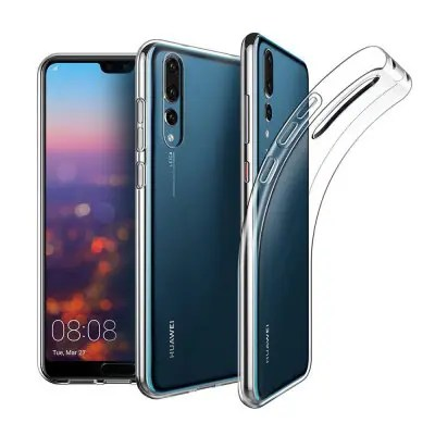 Naxtop Transparent Back Case for HUAWEI P20 Pro