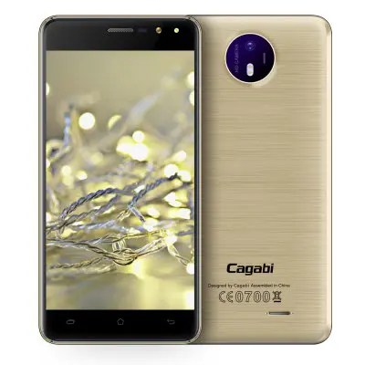Cagabi one Android 6.0 5.0inch HD Screen MTK6580 1.3GHz Quad Core 1GB RAM 8GB ROM 8MP Camera 3G Smartphone
