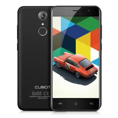 Cubot Note plus Black UK