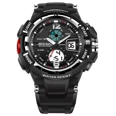 Sanda 289 5300 Double Movement Outdoor Sports Men Watch