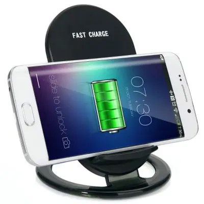 2-Coils Qi Wireless Charger Pad Fast charge