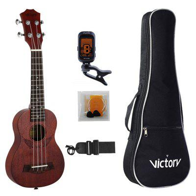 Gearbest Soprano Ukulele Angel 21 inch Mahogany Material for Beginner Kit