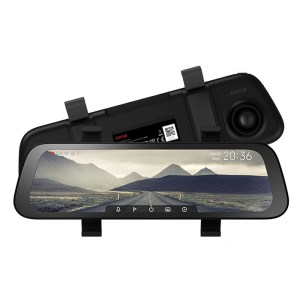 Original 70mai D07 Rearview Dash Cam Wide 9.35 Inch Car DVR Rear View Mirror – Black