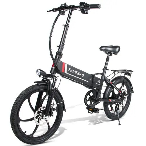 Samebike 20LVXD30 10.4Ah Smart Folding Electric Moped Bike E-bike 350W 35km Per Hour