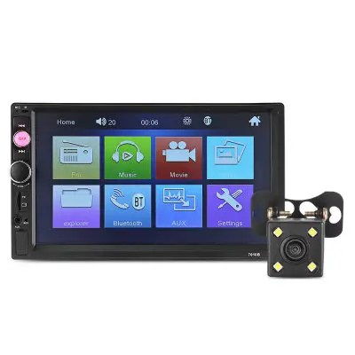 7010B Car MP5 Player with 720P Camera -