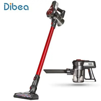 Dibea C17 2in1 Cordless Upright Vacuum Cleaner LAVA RED PSE