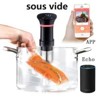 Sous Vide Stick Slow Cooker Water Immersion Thermal Circulator Temperature Control Stainless Steel Kitchen Appliance, supports Android and iOS