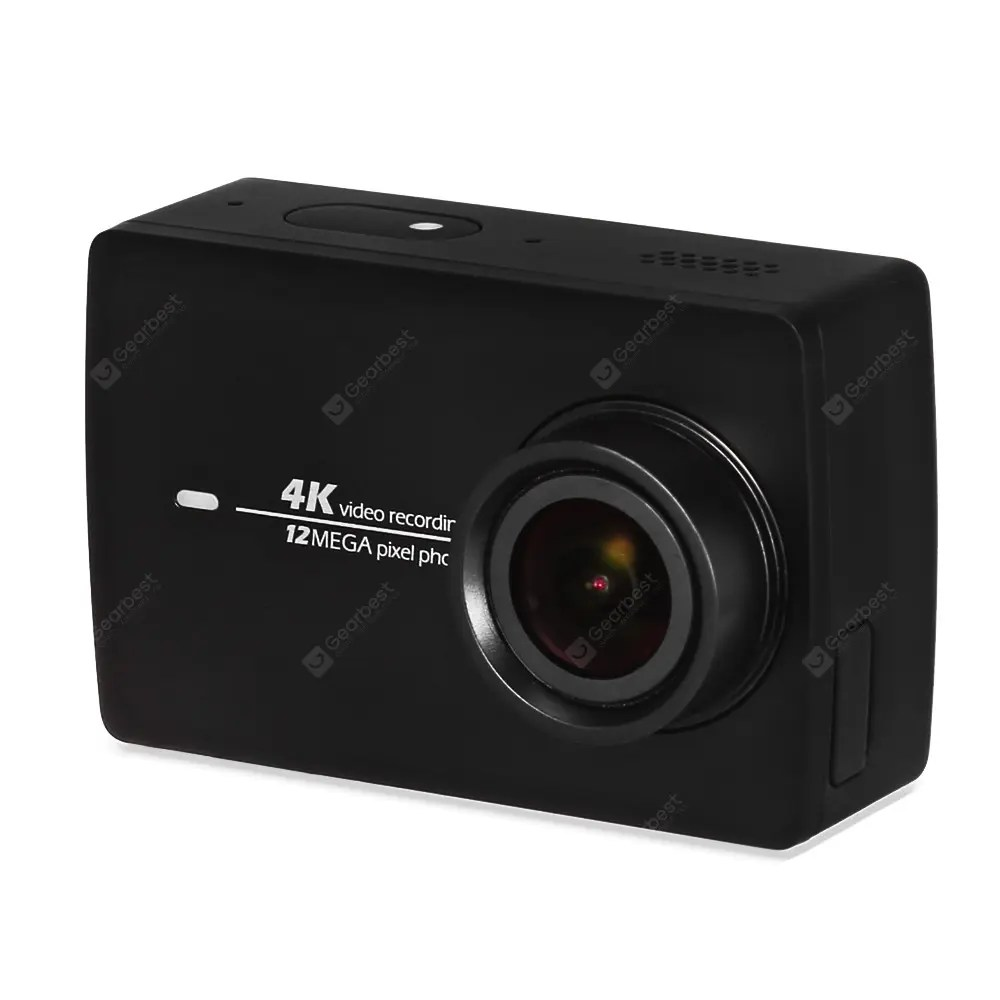 Original YI II International Version WiFi 4K Sports Action Camera 2.19 inch LCD Screen 155 Degrees Wide Angle F2.8 Aperture