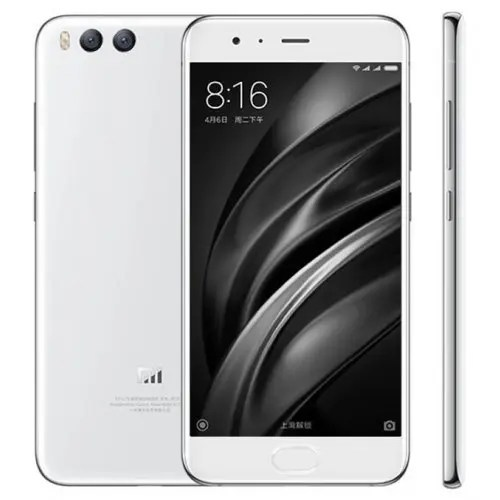 Xiaomi Mi6 4G 6GB RAM 64GB ROM WHITE Color Snapdragon 835 128GB ROM 2K Screen Smartphone