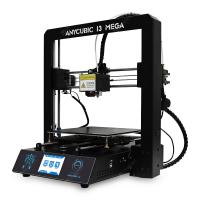 "Résultat de recherche d'images pour ""Anycubic I3 MEGA Full Metal Frame FDM 3D Printer - WHITE AND BLACK EU PLUG gearbest"""