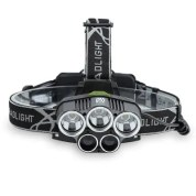 YWXLight LED Headlamp 5000 Lumen Brightness 5 Light Waterproof for Camping Travel Walking
