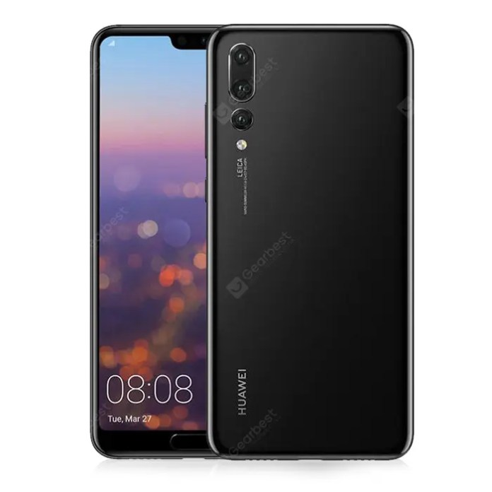 HUAWEI P20 Pro 4G Phablet 6GB RAM Global Version