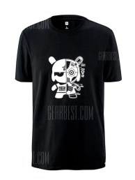 Xiaomi Leisure Cartoon Print Short Sleeve T-shirt