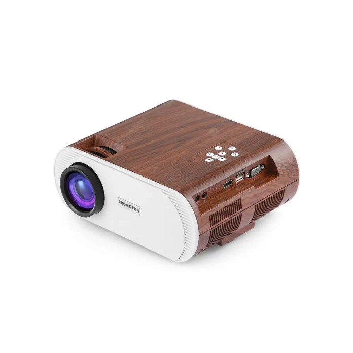 YT - 890 LCD Projector Support 1080P