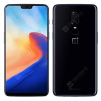 "Résultat de recherche d'images pour ""OnePlus 6 4G Phablet 6 GB RAM 64 GB de ROM International Version - MIRROR BLACK gearbest"""