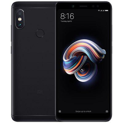 Gearbest Xiaomi Redmi Note 5 4G Phablet Global Edition - BLACK 4GB RAM 64GB ROM Dual Rear Cameras Bluetooth 5.0 Fingerprint Recognition 4000mAh Battery