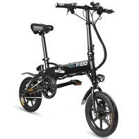 "Résultat de recherche d'images pour ""FIIDO D1 Folding Electric Bike Moped Bicycle - BLACK 7.8AH BATTERY gearbest"""