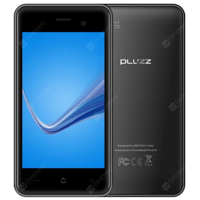 PLUZZ PL4010 4G Smart Phone
