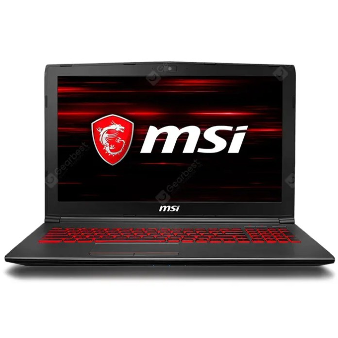 MSI GV62 8RD - 093CN Gaming Laptop 15.6 inch