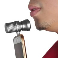 Men Portable Mini Electric Mobile Phone Shaver