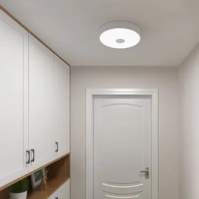 Gearbest Yeelight Induction LED Ceiling Light Anti-mosquito for Home - WHITE Human Body / Photosensitive Sensor AC220 - 240V