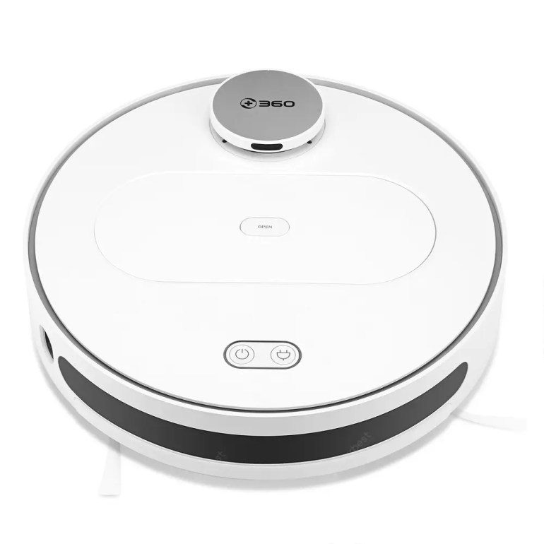 360 S6 Robot Vacuum Cleaner 1800Pa Suction Mopping Sweeping Mode APP Remote Control LDS Lidar SLAM Algorithm  (entrepot eu) - 252.06€