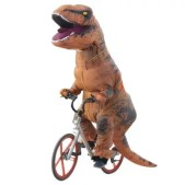 Adult Inflatable Dinosaur Costume for Halloween Cosplay