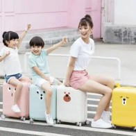 Xiaomi 90FUN PC Spinner Wheel Luggage Suitcase 18 inch for Kids