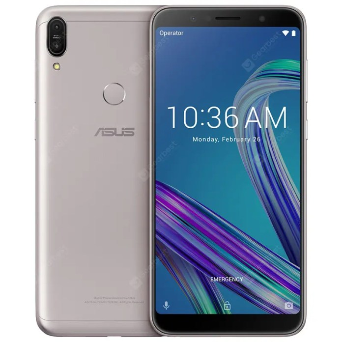 ASUS ZenFone Max Pro ( M1 ) 3GB RAM 4G Phablet Global Version