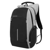 KAKA Waterproof USB Charging Laptop School Backpack