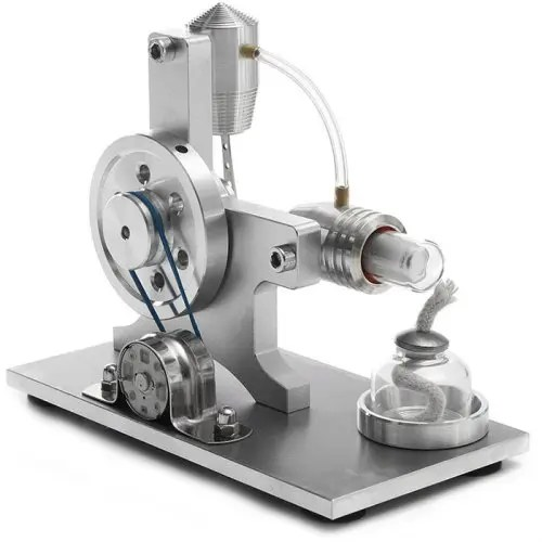 DIY Steam Machine Stirling Engine Model