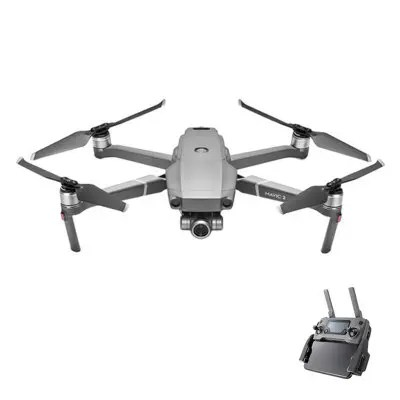 Gearbest only $999 DJI MAVIC 2 Zoom RC Drone - GRAY DJI MAVIC 2 ZOOM ONLY, CHINA STANDARD PLUG promotion