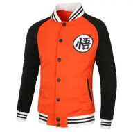 Leisure Contrast Color Long Sleeve Sports Jacket for Men