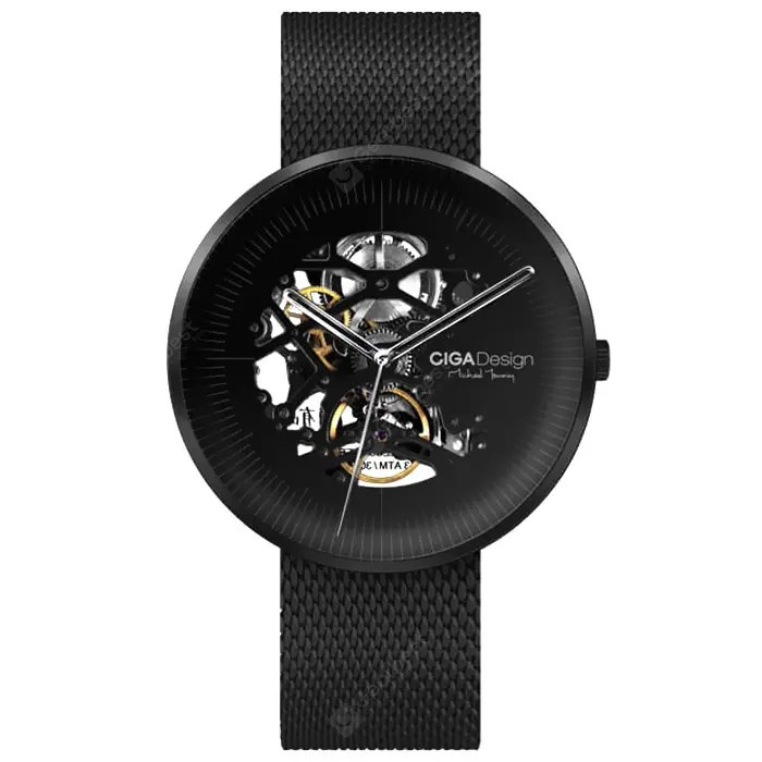 Xiaomi Youpin CIGA Hollowed-out Mechanical Automatic Watch 27May