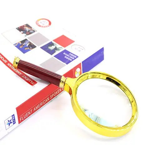 Gift Auxiliary Reading Magnifier for Old Man