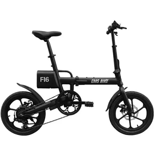 CityMantiS CMS - F16 Outdoor 7.8Ah Battery Smart Folding Electric Bike