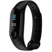 M3 Plus Smart Bracelet 0.96 inch Screen Bluetooth 4.0 Call / Message Reminder Heart Rate Monitor Functions
