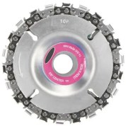 Multi-function Woodworking Chain Plate 4 inch Grinder Disc