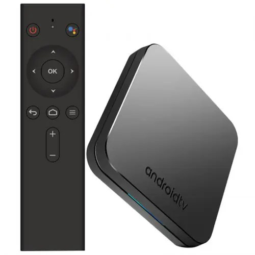 MECOOL KM9 Android TV OS TV Box with Voice Remote
