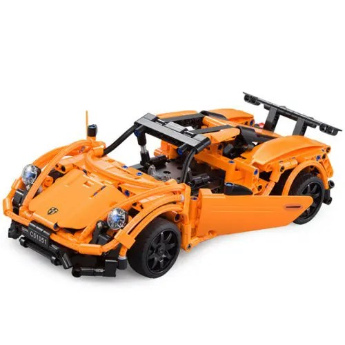 CaDA C51051W DIY Remote Control Building Block Puzzle Assembling And Inserting Electric Sports Car