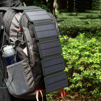 Gearbest Solar Charging Panel Removable Folding Mobile