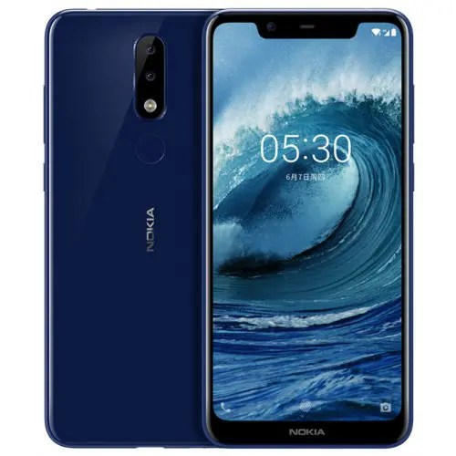 Smartphone 4G Nokia X5 Version Internationale