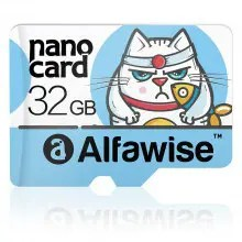 Gearbest Alfawise 32GB Micro SD Class 10 UHS-1 Scheda di Memoria - MULTI COLORI LIGHT BLUE DA 32 GB