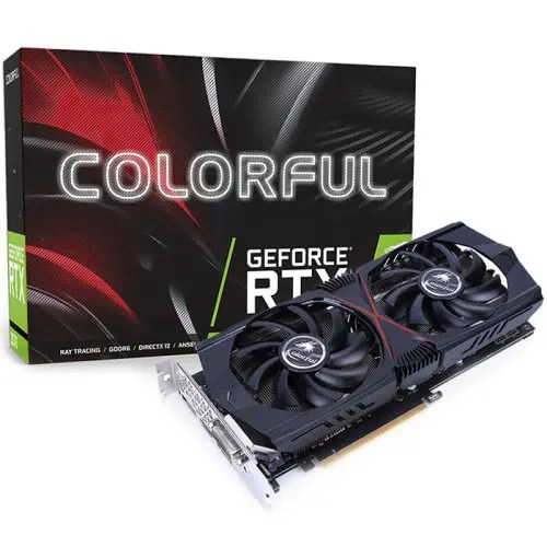 Colorful GeForce RTX 2060 Gaming GT V2 6G Nvidia Graphics Card