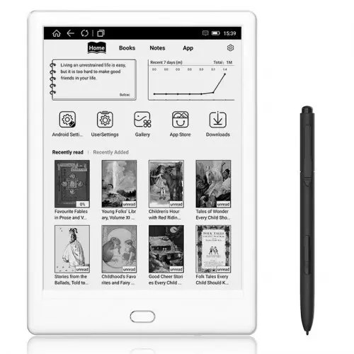 Likebook T78D E-book Reader 7.8 inch Ink Screen Dual-touch Ereader