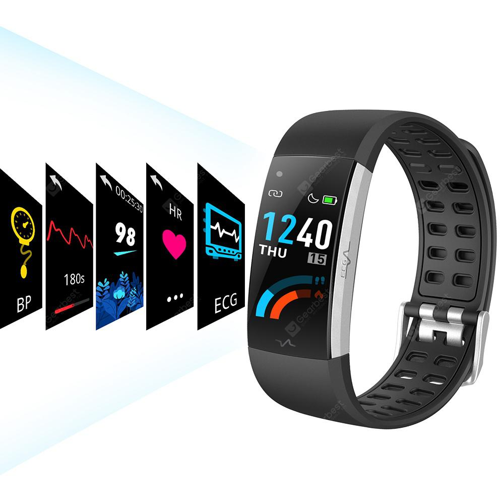 Alfawise I7E Full Touch Real Time Heart Rate ECG Monitor Smart Watch 8Oct