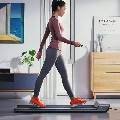 Gearbest Xiaomi Mijia WalkingPad Treadmill A1 Smart Foldable Walking Machine - Carbon Gray