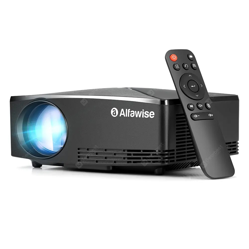 Alfawise A80 2800 Lumens BD1280 Smart Projector with LCD Display  18Nov